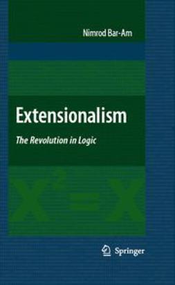 Bar-Am, Nimrod - Extensionalism, ebook