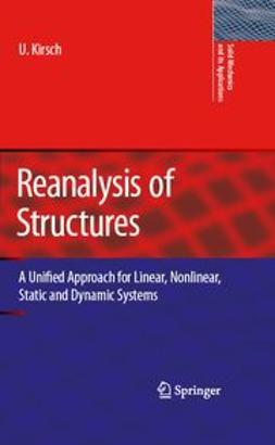 Kirsch, Uri - Reanalysis of Structures, ebook