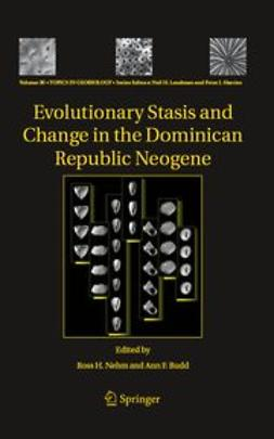 Budd, Ann F. - Evolutionary Stasis and Change in the Dominican Republic Neogene, ebook