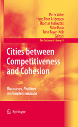 Ache, Peter - Cities between Competitiveness and Cohesion, e-bok