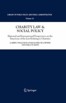 McGregor-Lowndes, Myles - Charity Law & Social Policy, ebook