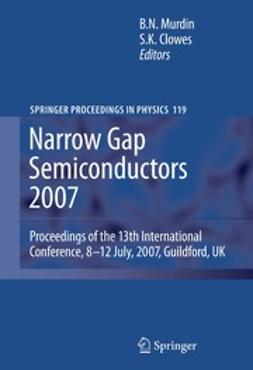 Clowes, Steve - Narrow Gap Semiconductors 2007, ebook