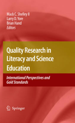 Hand, Brian - Quality Research in Literacy and Science Education, ebook