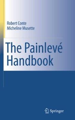 Conte, Robert - The Painlevé Handbook, ebook