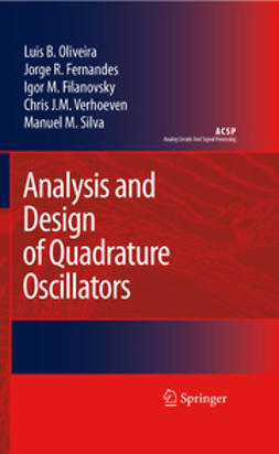 Fernandes, Jorge R. - Analysis and Design of Quadrature Oscillators, ebook