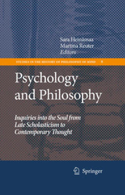 Heinämaa, Sara - Psychology And Philosophy, e-bok