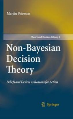 Peterson, Martin - Nonbayesian Decision Theory, ebook