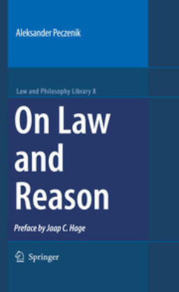 Peczenik, Aleksander - On Law and Reason, ebook