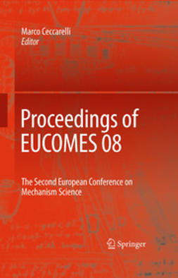 Ceccarelli, Marco - Proceedings of EUCOMES 08, ebook