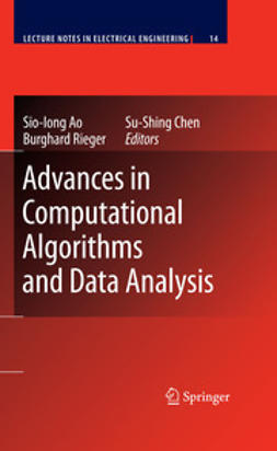 Ao, Sio-Iong - Advances in Computational Algorithms and Data Analysis, e-kirja