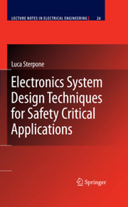 Sterpone, Luca - Electronics System Design Techniques for Safety Critical Applications, ebook