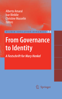 Amaral, Alberto - From Governance to Identity, ebook