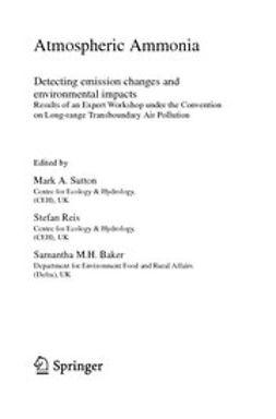 Sutton, Mark A. - Atmospheric Ammonia, ebook