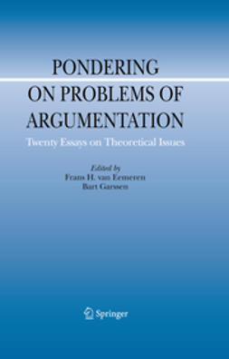 Eemeren, Frans H. - Pondering on Problems of Argumentation, ebook