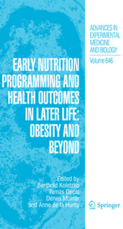 Decsi, Tamás - Early Nutrition Programming and Health Outcomes in Later Life, ebook