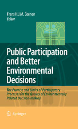 Coenen, Frans H. J. M. - Public Participation and Better Environmental Decisions, ebook