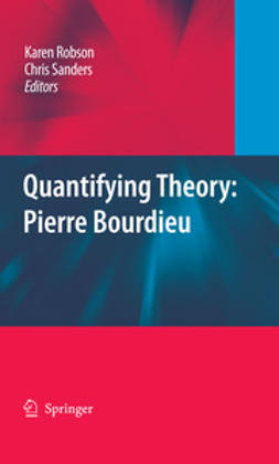 Robson, Karen - Quantifying Theory: Pierre Bourdieu, ebook
