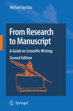 Katz, Michael Jay - From Research to Manuscript, ebook