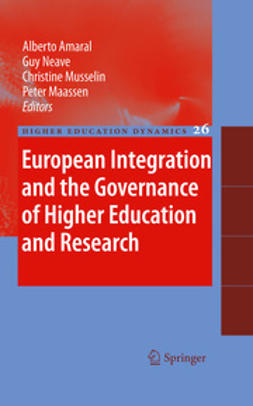Amaral, Alberto - European Integration and the Governance of Higher Education and Research, e-kirja