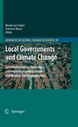 Staden, Maryke van - Local Governments and Climate Change, ebook