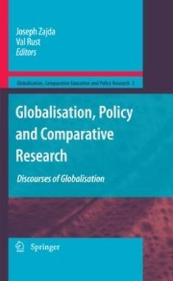 Zajda, Joseph - Globalisation, Policy and Comparative Research, ebook