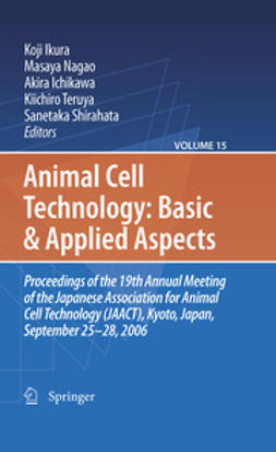 Shirahata, Sanetaka - Animal Cell Technology: Basic & Applied Aspects, ebook