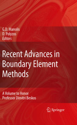 Manolis, George D. - Recent Advances in Boundary Element Methods, ebook