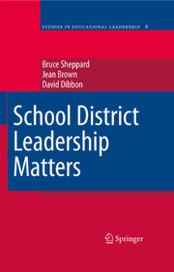 Brown, Jean - School District Leadership Matters, ebook