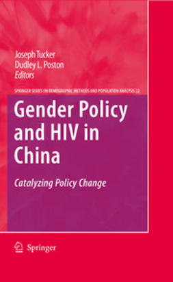 Poston, Dudley L. - Gender Policy and HIV in China, e-kirja