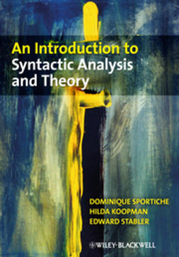 Sportiche, Dominique - An Introduction to Syntactic Analysis and Theory, ebook