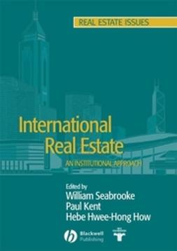 How, Hebe Hwee-Hong - International Real Estate: An Institutional Approach, e-kirja