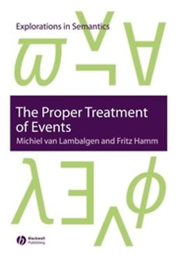 Hamm, Fritz - The Proper Treatment of Events, e-bok