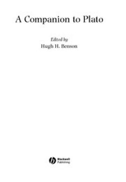 Benson, Hugh H. - A Companion to Plato, ebook