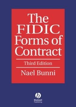 Bunni, Nael G. - The FIDIC Forms of Contract, ebook