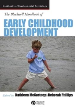 McCartney, Kathleen - Blackwell Handbook of Early Childhood Development, ebook