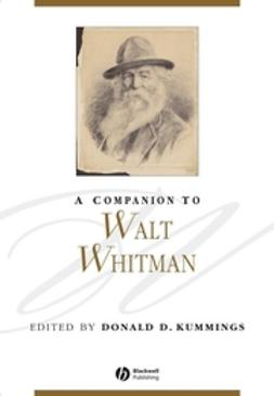 Kummings, Donald D. - A Companion to Walt Whitman, ebook