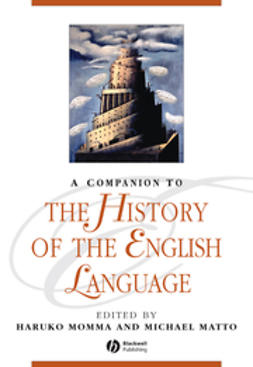 Momma, Haruko - A Companion to the History of the English Language, e-kirja