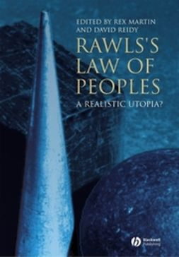 Martin, Rex - Rawls's Law of Peoples: A Realistic Utopia, ebook