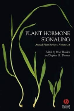Hedden, Peter - Annual Plant Reviews, Plant Hormone Signaling, ebook
