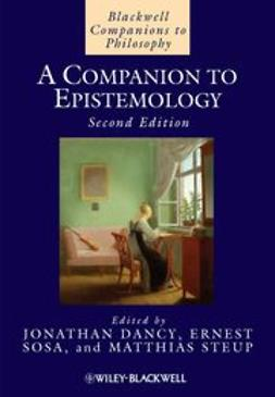Dancy, Jonathan - A Companion to Epistemology, ebook