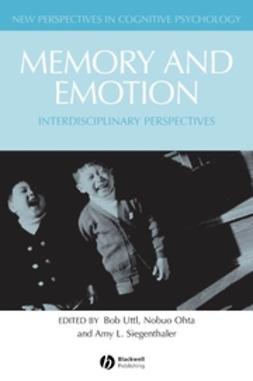 Ohta, Nobuo - Memory and Emotion: Interdisciplanary Perspectives, ebook
