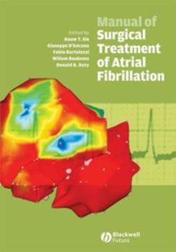 Bartolozzi, Fabio - Manual of Surgical Treatment of Atrial Fibrillation, ebook