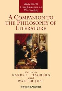 Hagberg, Garry L. - A Companion to the Philosophy of Literature, ebook