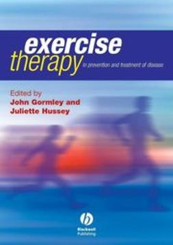 Gormley, John - Exercise Therapy: Prevention and Treatment of Disease, ebook