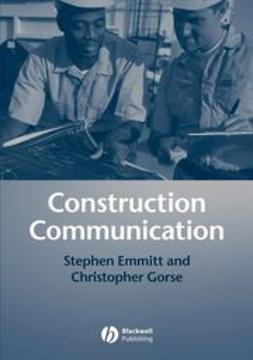 Emmitt, Stephen - Construction Communication, ebook