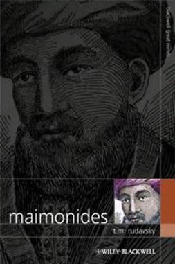 Rudavsky, T. M. - Maimonides, e-bok