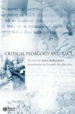 Leonardo, Zeus - Critical Pedagogy and Race, ebook