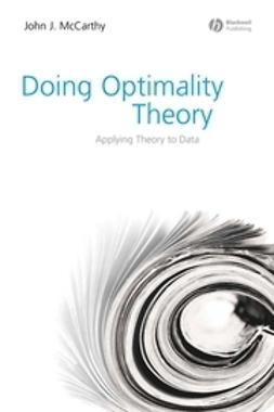 McCarthy, John J. - Doing Optimality Theory: Applying Theory to Data, ebook