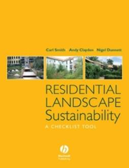 Clayden, Andy - Residential Landscape Sustainability: A Checklist Tool, e-bok