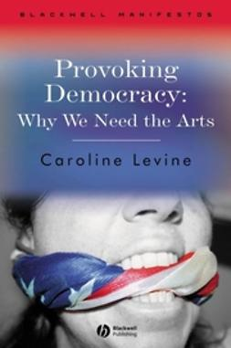 Levine, Caroline - Provoking Democracy: Why We Need the Arts, e-kirja